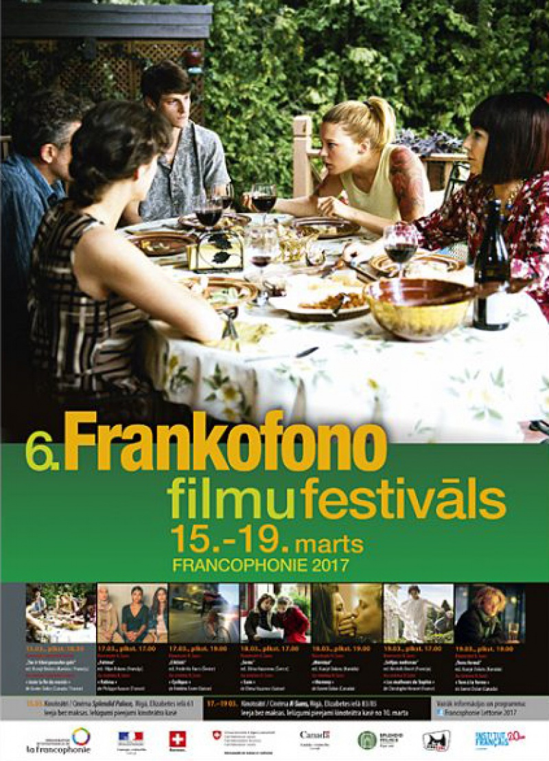 6. Frankofono filmu festivāls
