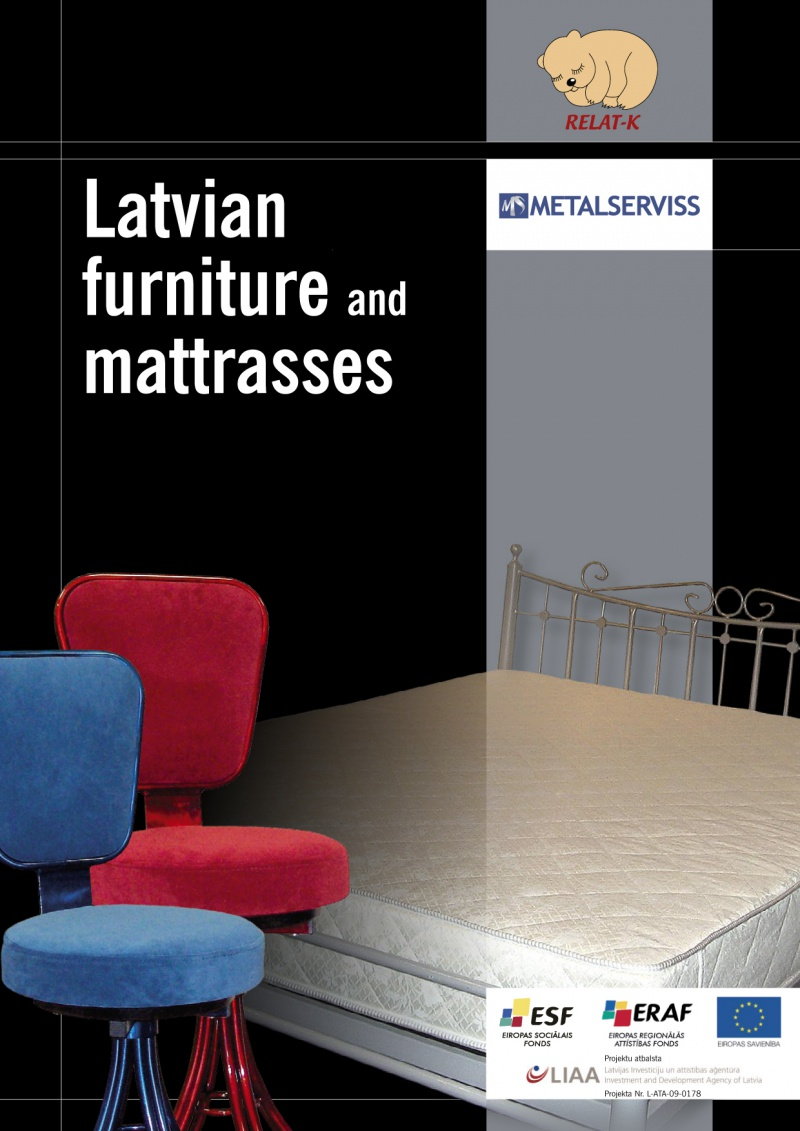 Latvian furniture and mattrasses